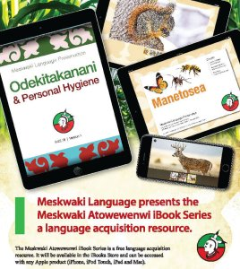 Meskwaki Language Department Offers New iBook