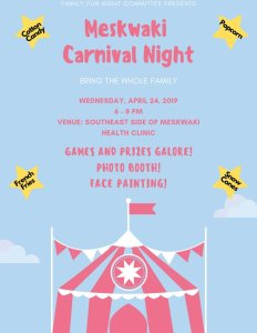 Meskwaki Carnival Night @ Meskwaki Health Clinic