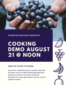 August Cooking Demo