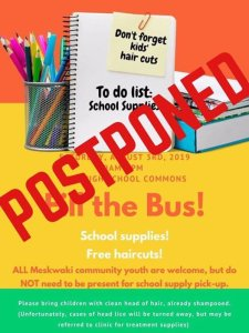 Postponed - Fill The Bus Event!