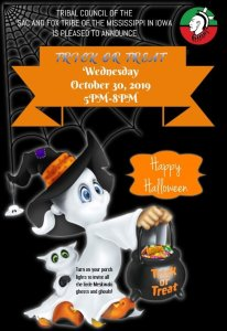 Meskwaki Trick or Treat Night @ Meskwaki Settlement