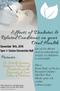 CANCELED: Diabetes & Oral Health Meeting @ MBCH Convention Center