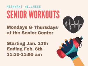 30-Minute Workout w/ Jason @ Seniors Center