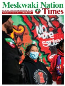 March Meskwaki Nation Times Available Now