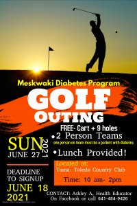 2nd Annual Golf Outing @ Tama-Toledo County Club
