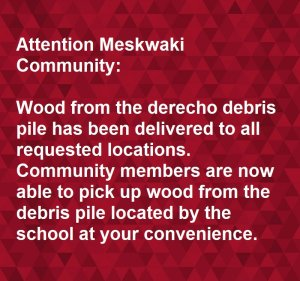 Wood in Debris Pile Available