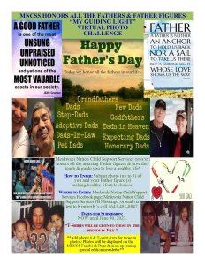 """MNCSS hosts """"My Guiding Light"""" Virtual Photo Challenge for Father's Day"""
