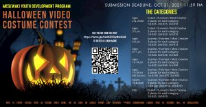 MYDP Halloween Video Costume Contest - Submission Deadline at 11:59PM
