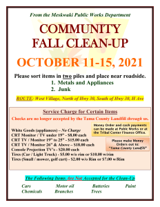 Community Fall Clean-Up